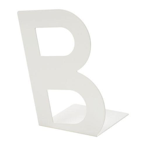 BUSBASSE - Buchstütze, weiß