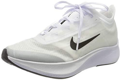 Nike Women's Zoom Fly 3 Trail Running Shoes, White (White/Black/Atmosphere Grey 100), 6.5 UK