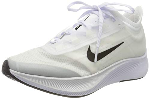 Nike Women's Zoom Fly 3 Trail Running Shoes, White (White/Black/Atmosphere Grey 100), 6.5 UK