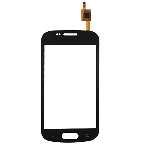 Ebogor Touch Panel Touch Panel for Galaxy Trend / I699 (Schwarz) Touch-Panel (Farbe : Black)