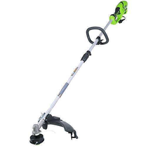 Greenworks 18-Inch 10 Amp Corded String Trimmer (Attachment Capable) 21142 (Renewed)
