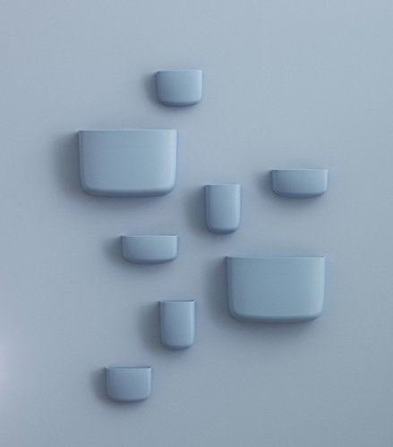 Normann Copenhagen - Organizer tascabile, 14 x 10 x 7,3 cm, colore: Azzurro