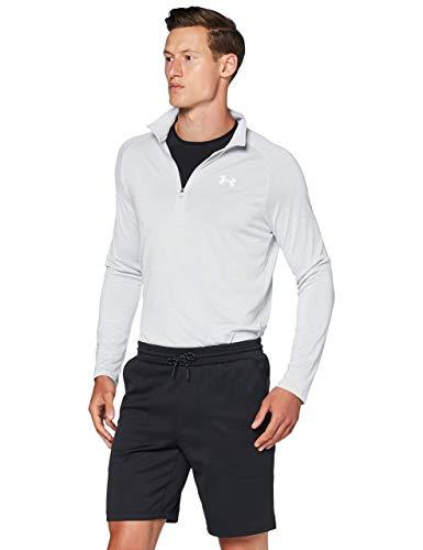 Under Armour MK1 Warmup Deportivo Transpirable, Pantalones para Correr, Hombre, Negro (Black/Pitch Gray), M