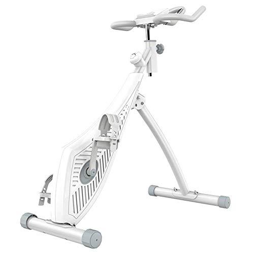 D&XQX Escritorio de pie Bicicleta estática Oficina en el hogar Queme calorías Mientras Trabaja 8 Resistencia, con Sensor de frecuencia cardíaca, Equipo de Ejercicios para el hogar