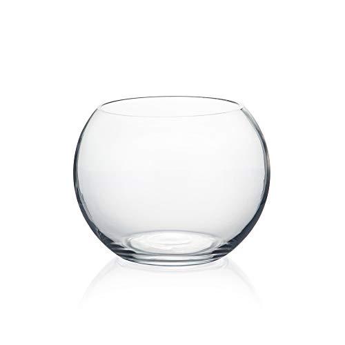 WGV Bowl Glass Vase, Diameter 6