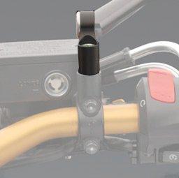 Adapter Spiegel RIZOMA für Installation Spiegel auf Lenker Farbe schwarz, Code bs787b Höhe Schaft 47mm