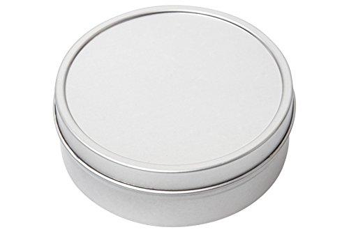 125ml Round Tinder Tins Storage Survival Tin Camping Kit