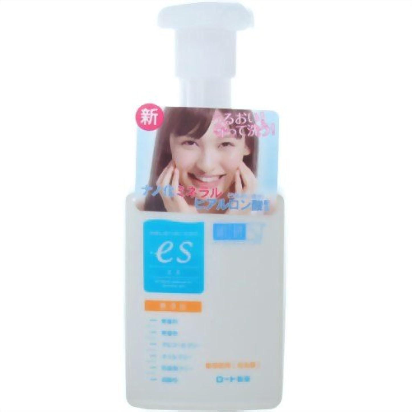 旅実行するソーダ水肌ラボ es(エス)ナノ化ミネラルヒアルロン酸配合 無添加処方 洗顔泡タイプ 160ml