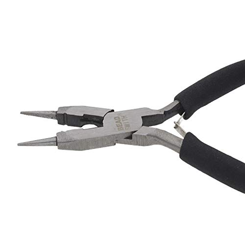 The Beadsmith 4-in-1 All-Purpose Pliers for Cutting and Flattening Wire, Jewelry Making Tool