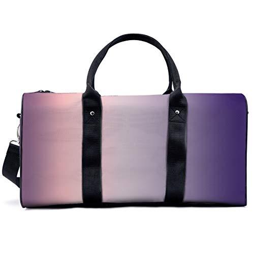 Yuna - Bolsa de deporte para deporte, diseño de Hannah Alexander, estilo Art Nouveau, color degradado, bolsa de hombro, bolsa de viaje, bolsa de viaje para hombres y mujeres