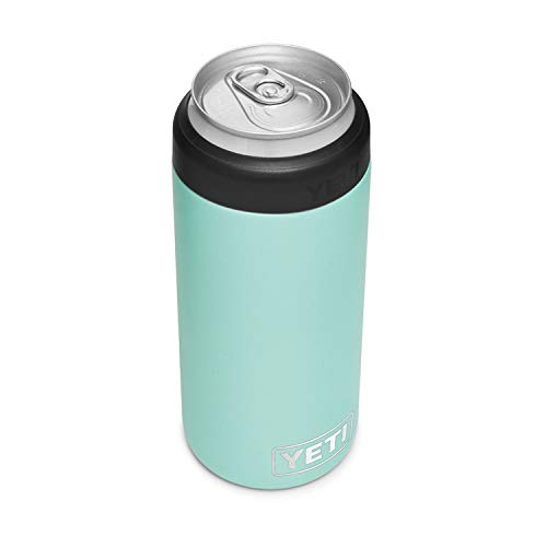 YETI Rambler 12 oz. Colster Slim Can Insulator for the Slim Hard Seltzer Cans, Harvest Red