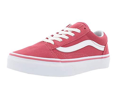 Vans T Old Skool V Unisex-Kinder Sneaker, - Desert Rose True White - Größe: 31 EU