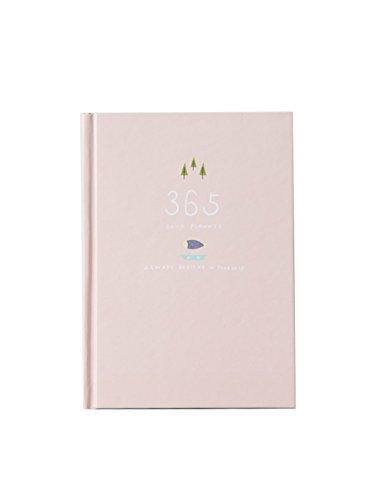 Nette 365 Tage Planer Nachfüllungen Täglich Wöchentlich Monatliche Kalender Zeitplan Notizbuch Tagebuch Gebunden To-Do-Liste Buch Agenda Organizer Schule Schreibwaren (Hell-Pink)
