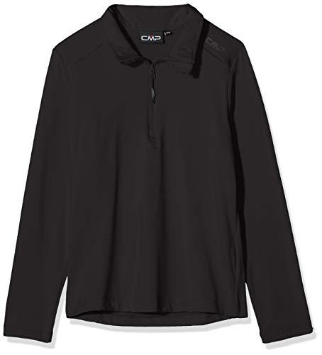 CMP Jungen Ski Rolli 39L2284 Shirt, Nero, 128