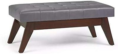 Terrific Amazon Com Cct Global Sourcing Hopewell Tufted Ottoman With Inzonedesignstudio Interior Chair Design Inzonedesignstudiocom