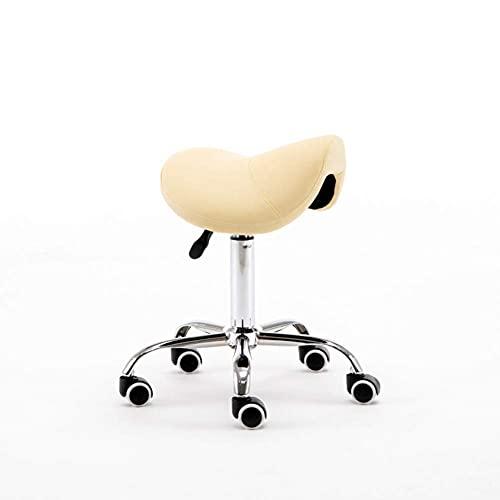 QLIGAH Sedia Girevole Barber Sedia Rotazione Comodo Altezza Regolabile Bellezza Salone Sedia Computer Sedia per Computer