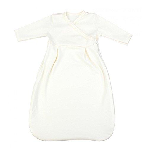 TupTam Baby Unisex Langarm Innenschlafsack, 50-56, Ecru