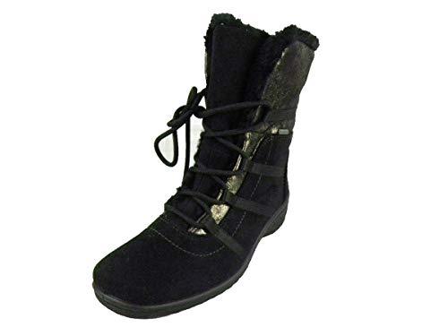 ara München-St-Gor-Tex botas de nieve Mujer, negro (Schwarz), 39 EU (6 UK)