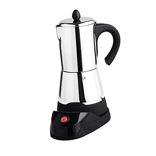 Nologo Lounayy Elektrischer Kaffeemaschine Kaffeekocher Mokkakocher Espressokocher Wasserkocher Basic Mode Aus Edelstahl Mit Eu Stecker 4 Tasse Sale Home Täglich Gebrauch Produkt
