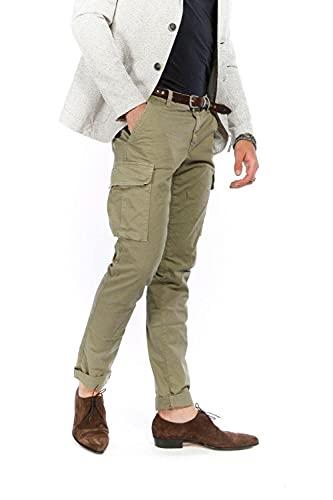 Chile Pantalone Cargo in Cotone Extra Slim  50