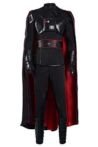Lixinya Disfraz de Manda Moff Gideon para Halloween, carnaval, cosplay, disfraz para hombre, talla M