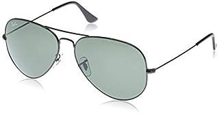 Ray-Ban RB3026 Large Metal II Aviator Sunglasses, Black/Green, 62 mm (B000MSIP3Y) | Amazon price tracker / tracking, Amazon price history charts, Amazon price watches, Amazon price drop alerts