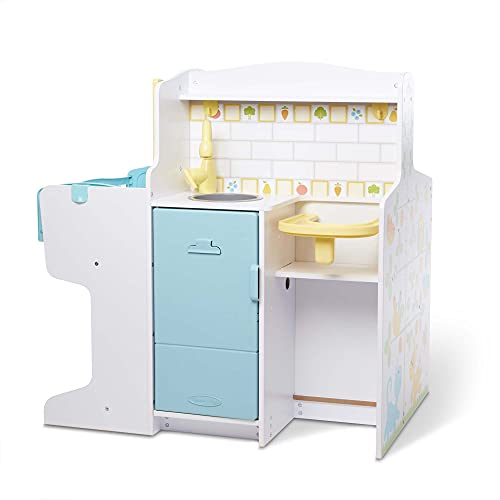 Melissa & Doug Mine to Love Baby Care Activity Center for Dolls - Kitchen, Nursery, Bathing-Changing