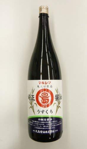 丸島醤油 マルシマ 純正醤油 淡口 1.8L [0748]