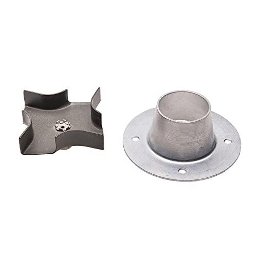 Moultrie Metal Spinner Plate & Funnel Kit |...