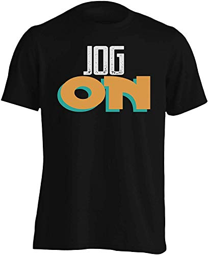 Jog on Men's T-Shirt Custom tee Shirt