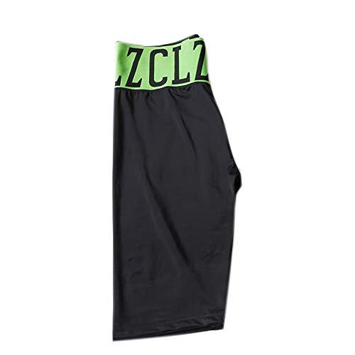 OMKMNOE Pantalones De Montar, Pantalones De 5 Puntos Leggings Torneo Pantalones De Montar A Caballo Garza con Estilo Cintura Altas Calzones De Ribete Completo Pasquillos para Damas Elástico,Verde