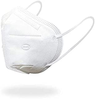 Disposable Respirator Mask with Ear Loop, Foldable, One Size, Box of 50