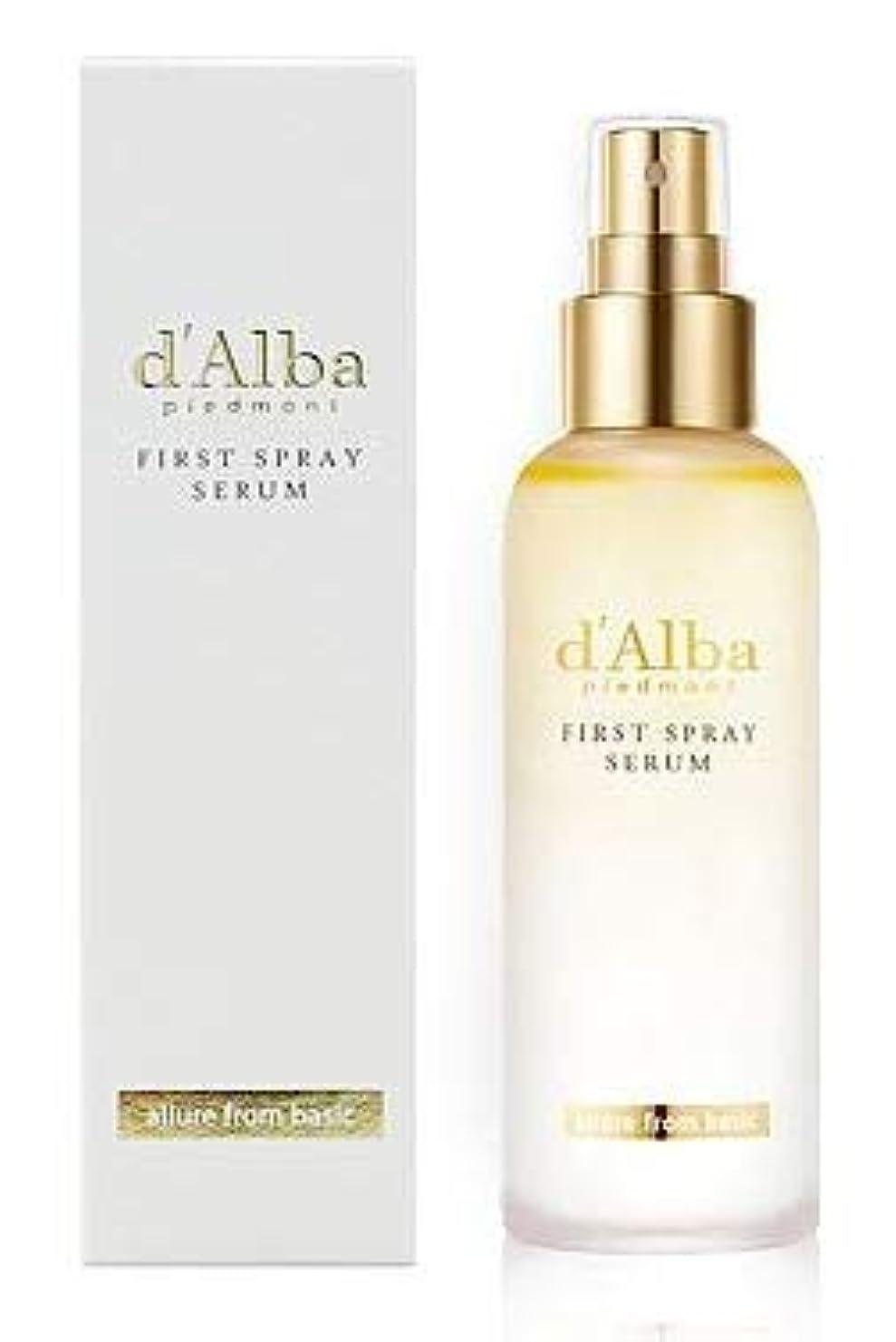 台風洗練された尾[dAlba] White truffle Mist Serum 100ml / [ダルバ] ホワイト トラプル ミスト セラム 100ml [並行輸入品]