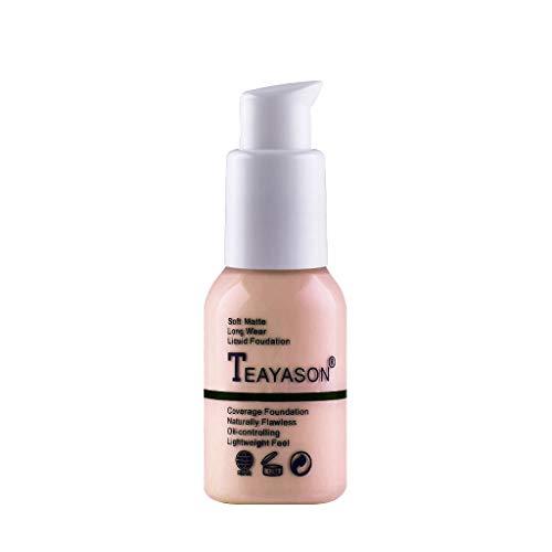 visage oeil fond de teint liquide, Fulltime surbrillance Contour liquide Stick maquillage cosmétique maquillage (D)