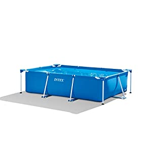 Intex 28272NP Small Frame – Piscina desmontable, 300 x 200 x 75 cm, 3.834 litros, azul