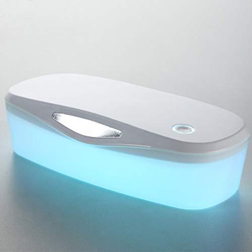 Uv-sterilisatiebox voor nagels, desinfectiegereedschap voor de Spa-salon, 2-in-1 draagbare uv-sterilisierbox met ozon en USB-aansluiting voor intieme gereedschappen