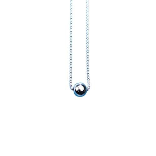 HAO SHOP Choker - 925 sterling zilver zirkonia, ketting dames sieraden verjaardag geschenk, prinses kralen wit sleutelbeen ketting