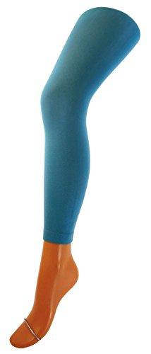 Kinder Legging lang Farbe: 24 türkis, Größe: 134/146