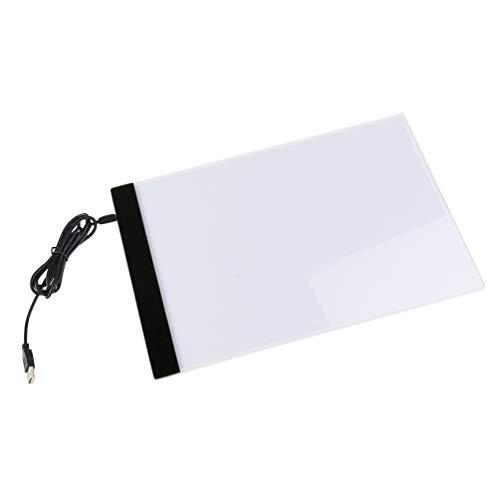 Angoily A4 Portable Tracer Led Artcraft Tracing Pad Caja de Luz para 5D Artistas de Bricolaje Dibujo Dibujo Animación