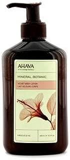 AHAVA(アハバ) ミネラル ボタニック ベルベット ボディローション - Hibiscus&Fig(ハイビスカスといちじく) 400ml/13.5oz [並行輸入品]