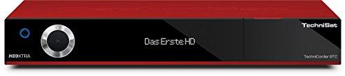 TechniSat TechniCorder ISIO STC - HDTV-Digitalreceiver mit erweiterbarem Doppel-QuattroTuner, integriertem WLAN und ISIO-Internetfunktionalität, rot