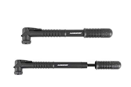 Massi CM-06 Inflador para Bicicleta, Deportes y Aire Libre, Negro, 230mm