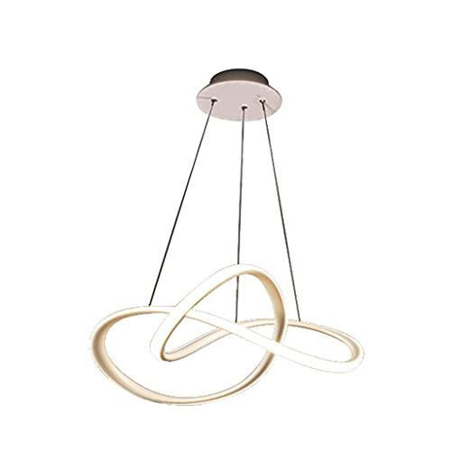 Lámparas de acrílico Modernas Colgante Iluminación Luz de Techo LED LED para Comedor Sala de Estudio de Cocina Dimmable con Control Remoto