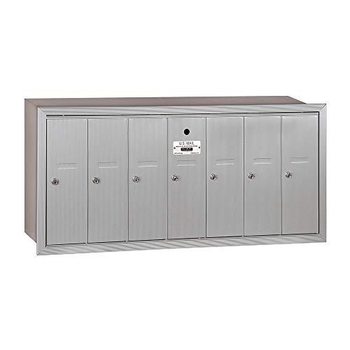 Salsbury Industries 3507ARU Vertical Cluster Mailbox, Aluminum