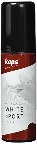 Kaps White Sport Betún y reparación de zapatos, Blanco (White), 75.00 ml