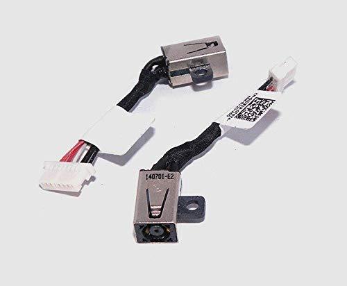 Durable Adaptador de arnés de Toma de Corriente CC para DELL Inspiron 13-7347 13-7348 13-7352 P57G 13-7000 0JDX1R - (Longitud del Cable: Otro) (Color : Other)