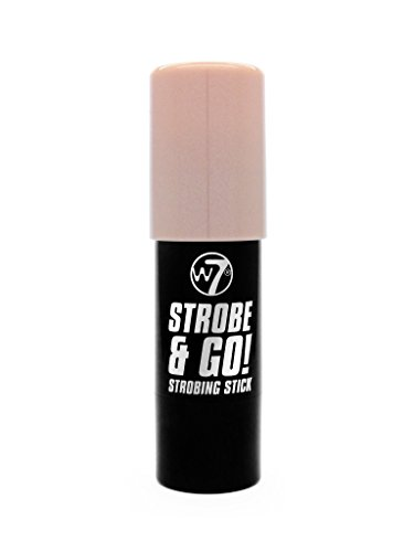 W7 | Highlighter | Strobe & Go! Strobing Stick -Pink Light | Highly Pigmented | Perfect For All Skin Types