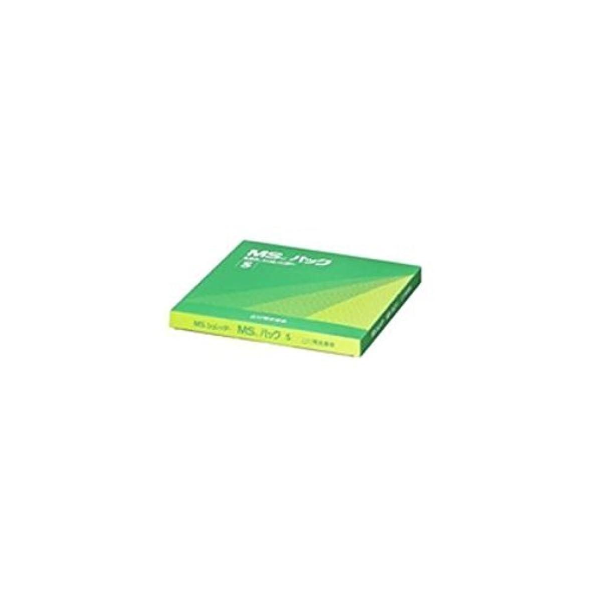 ワイドノートバケツ(まとめ買い) 明光商会 MSパック 透明 S 【100枚入】 S 【×3】