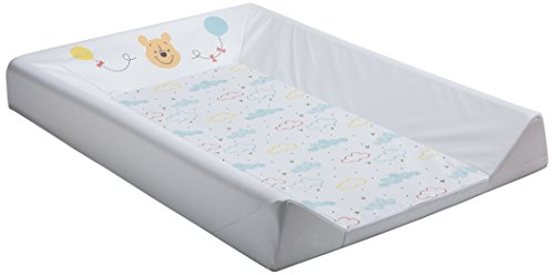 BabyCalin DIS510801 Mat Wechseln, 50cm x 70cm, Disney Winnie Hallo Funshine, mehrfarbig, 1 Stück