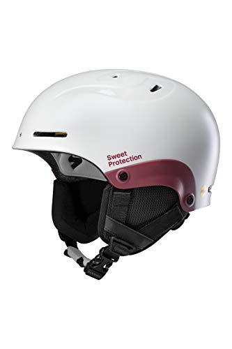 Sweet Protection Blaster II MIPS Casque de Ski et Snowboard pour Femme Gris Perle métallisé Taille ML